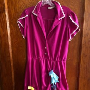 Vintage eccentric shirt dress